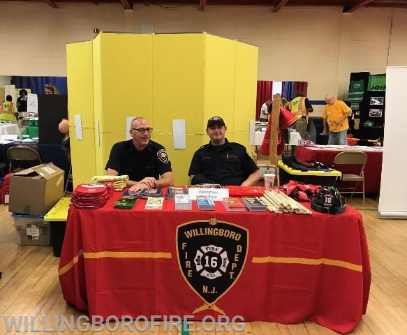 Firefighters Anderson and Rydarowski